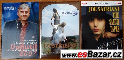 DVD: Postřižiny ● Joe Satriani - NEROZBALENÉ
