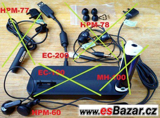 Sony Ericsson orig. NOVÁ sluchátka - handsfree