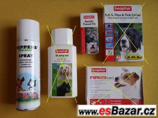 Tablety proti nevolnosti psů a koček Beaphar 10tbl NOVÉ