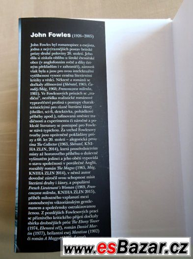 Francouzova milenka - John Fowles ●NOVÁ KNIHA ● KRÁSNÝ DÁREK