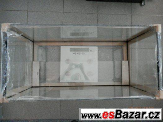 Nové Akvárium 80 x 38 x 40 cm, 128 litrů, strojně broušené,