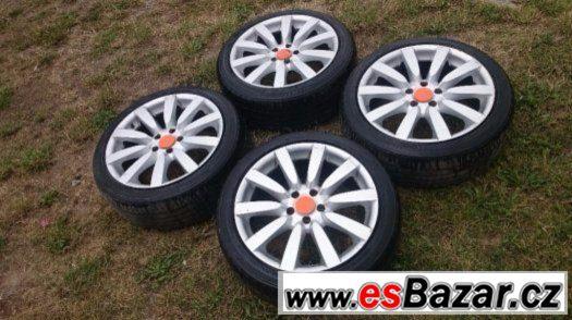 Alu. Kola 5x112 R18 pneumatiky 225/45 R18