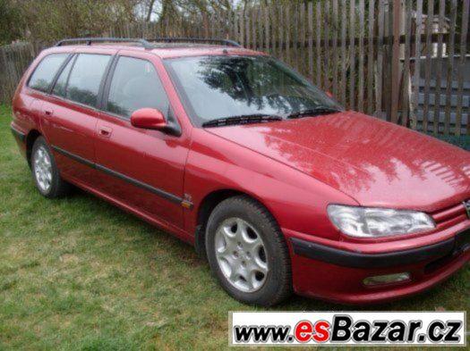 VEŠKERÉ NÁHRADNÍ Peugeot 406 1.8 16V R.v. 1995-2001