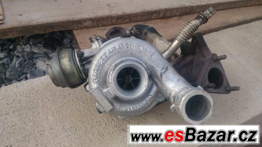 Turbodmychadlo 2.5TDI 132kw. Audi, Volkswagen, Škoda