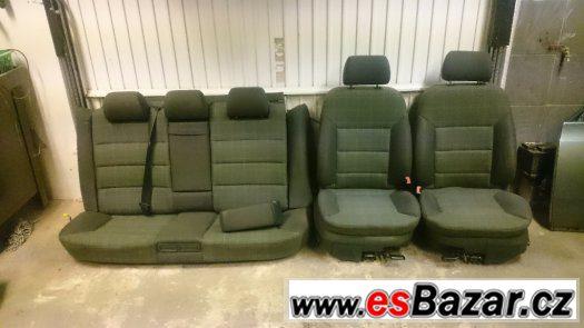 Prodám sedačky Audi A6, Allroad