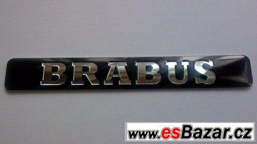 Logo Brabus - Mercedes Benz  BLACK