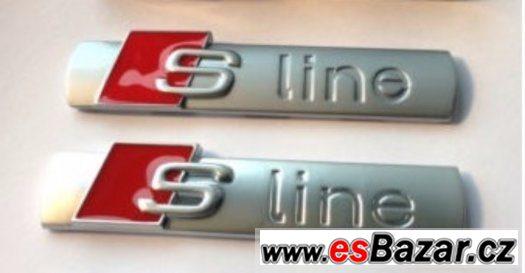 Audi Sline logo sada 2Ks