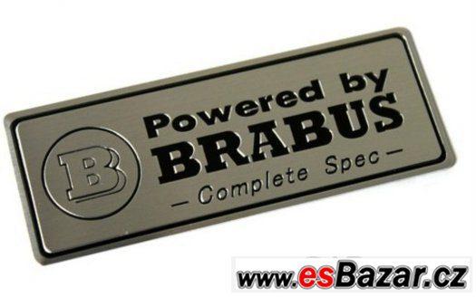 Powered by Brabus plaketa