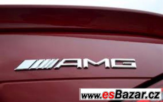 AMG Mercedes Benz  logo na kufr