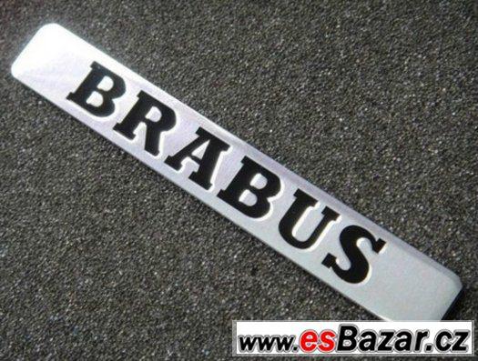 Brabus logo stříbrné