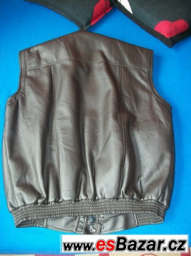 Pánská koženková bunda