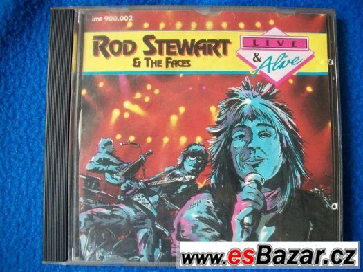 CD Rod Stewart a The Faces – Live USA.