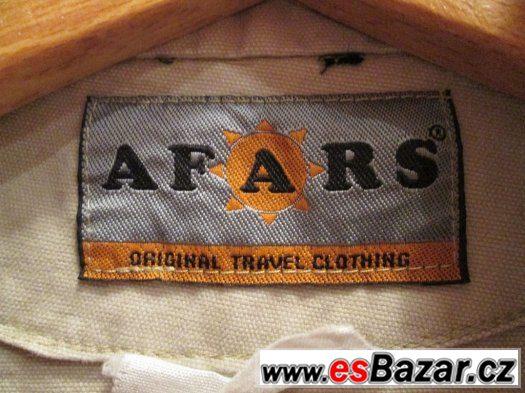 Pánská parka světlá khaki AFARS