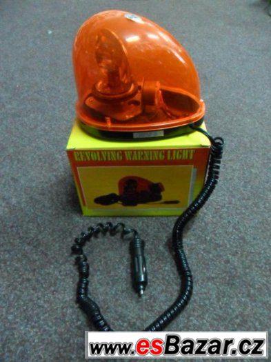 Oranžový maják na 12V