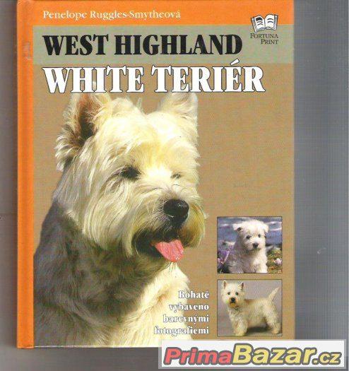Kniha West Highland White Terier    cena 89 kč