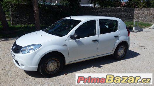 Dacia Sandero r.2010, original LPG, 0,90Kč/km