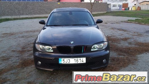 BMW 120D, r. 2005, 120kW, kůže, tuning, senzory...