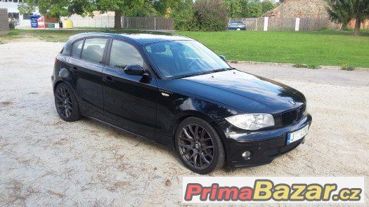 BMW 118i, 8/2006, úprava Schnitzer za 60.000, Alu 18