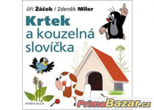 Prodám 2 dětské knížky KRTEČKA (tvrdé listy)