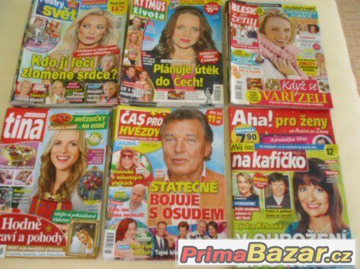 Časopisy pro celou rodinu - r. 2015