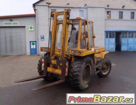 Prodám vysokozdvižný vozík ZTS traktorový 4x4