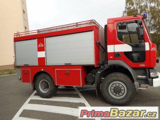 Prodám Renault Midlum 4x4, hasičské provedení
