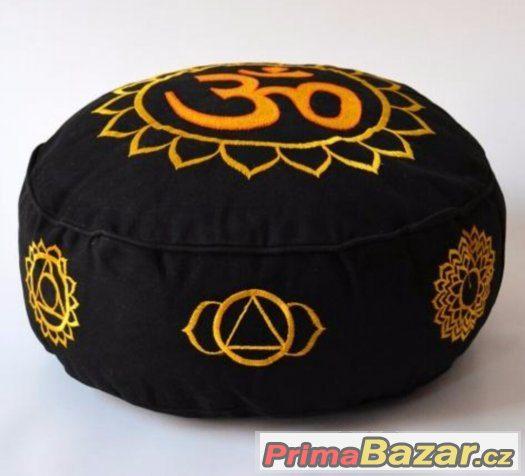 Meditační polštář s cakry