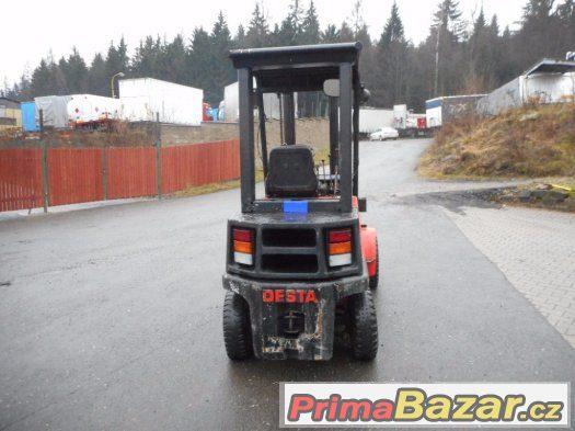 Prodám vysokozdvižný vozík Desta DVHM3222LX