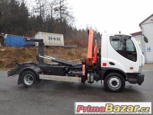 Prodám Daewoo Avia D120 kontejner + HR Palfinger