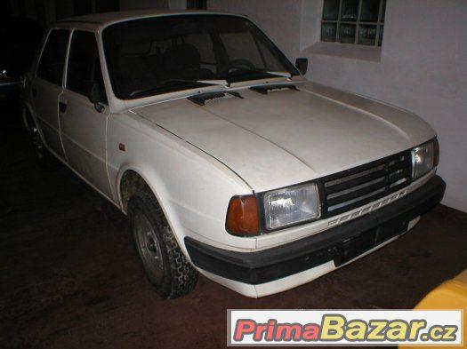 Škoda 125-posl.model 91-prodej