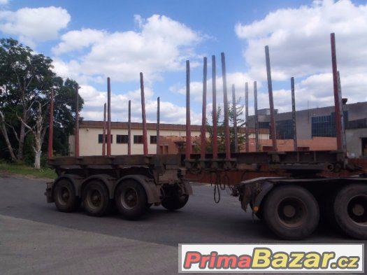 Prodám návěs na přepravu dřeva Lemex