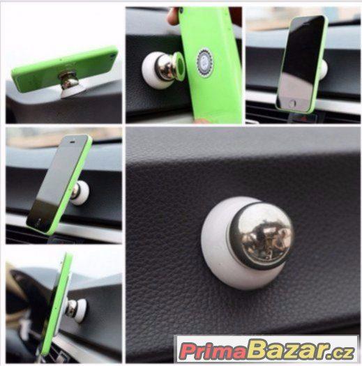 Magnetický držák navigace, mobilu až do 7 palců