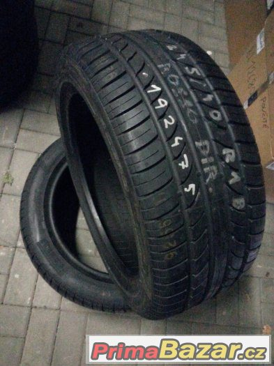 Pneu Pirelli Pzero rosso direz 245/40 R18