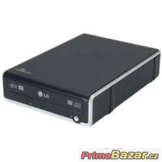 EXTERNÍ vypalovačka DVD - LG GSA E40L Super-Multi