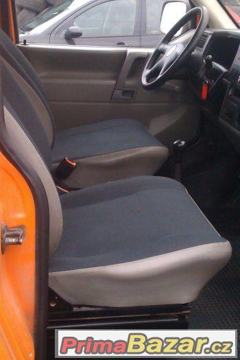 VW TRANSPORTER 2,5TDi = 9-ti místný