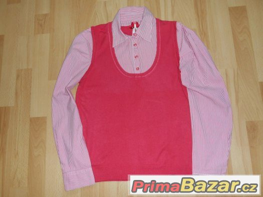 Krásna košile s vestou 2v1