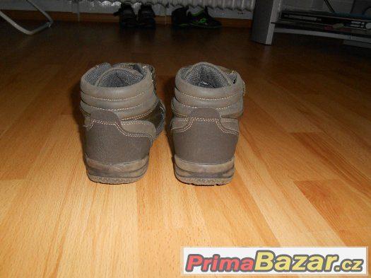 Kotníkové boty vel.33