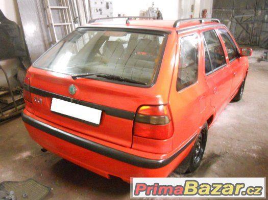 Škoda Felicia kombi 1.3 MPI - ZAPLACENÁ EKODAŇ