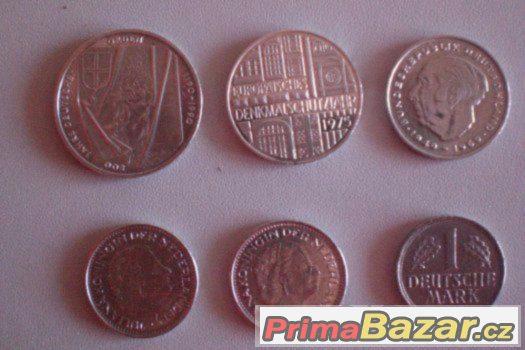 Staré německé mince