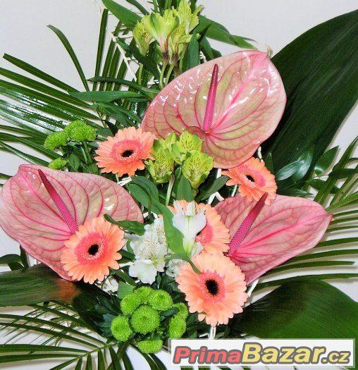 brigáda v květinářství