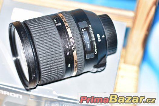 objektiv Tamron pro Nikon 24-70mm F2,8 VC