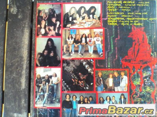 DEATH METAL SESSION(torr, abax, root, brian, mamut...) LP