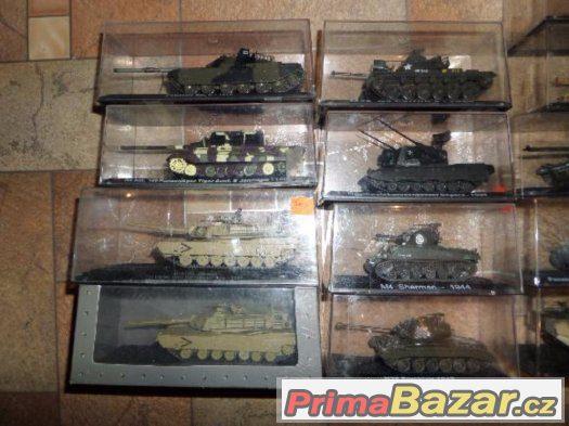 modely tanků 1:72