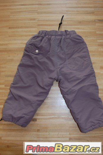 Zateplené kalhoty, vel. 92