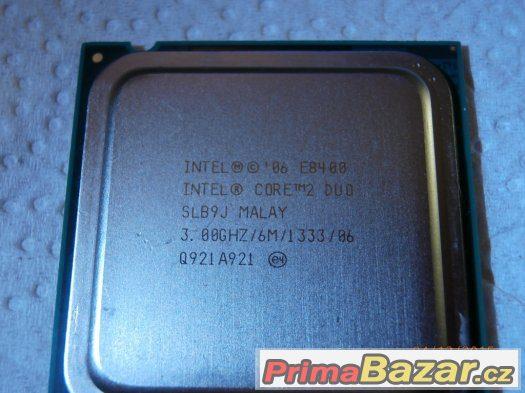 Intel Core 2 Duo E8400 2x3Ghz 6mb Cache fsb1333