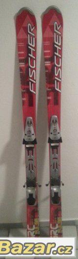 Prodám sjezdové lyže Fischer SRC Pulse (150 cm)