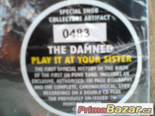 DAMNED-PLAY IT AT YOUR SISTER (3 cd-limitovaná edice)