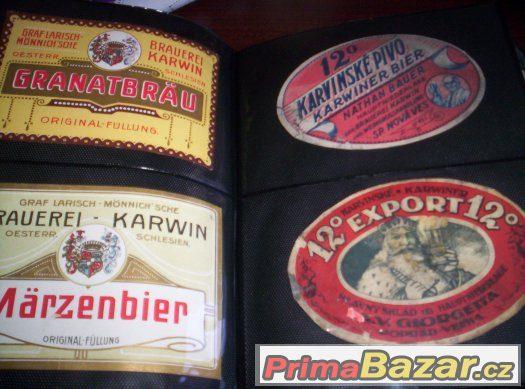 pivní etikety Karviná