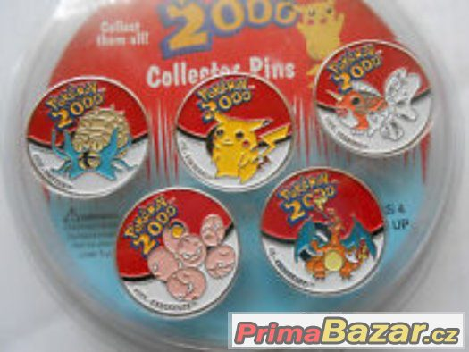 Koupím odznaky a staré karty pokemon