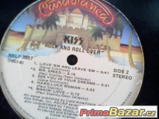 KISS-ROCK AND ROLL OVER (promo)